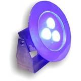 پروژکتور LED استخری  3وات ضد آب روکار ( IP68 ) تک رنگ