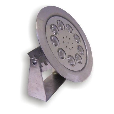 چراغ LED استخری 12 وات ضد آب روکار (IP68) تک رنگ