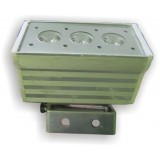 پروژکتور وال واشر ضد آب تک رنگ 12 ولت