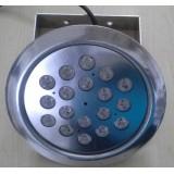 پروژکتور LED استخری 18 وات ضد آب روکار ( IP68 ) تک رنگ