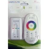 درایور نور ریموتی RF لمسی 12 آمپر ( RGB Controler )