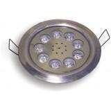 پروژکتور LED ضد آب 9 وات توکار ( IP68 ) مالتی کالر